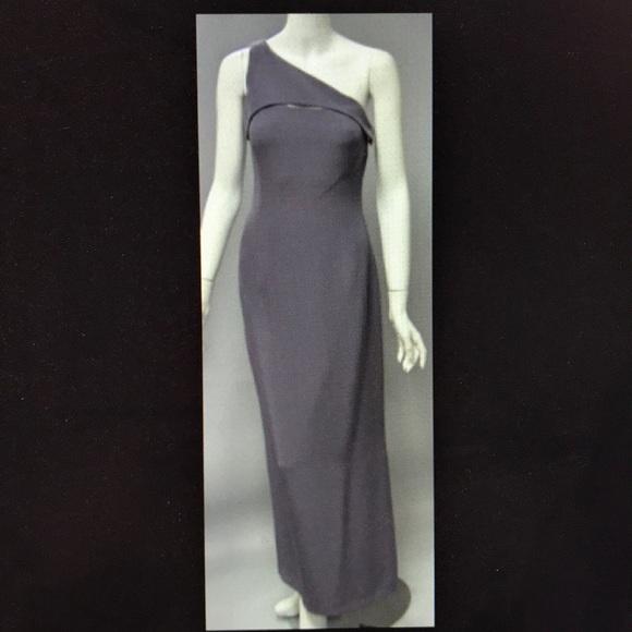 Giorgio Armani Dresses | Purple One Shoulder Gown | Poshmark